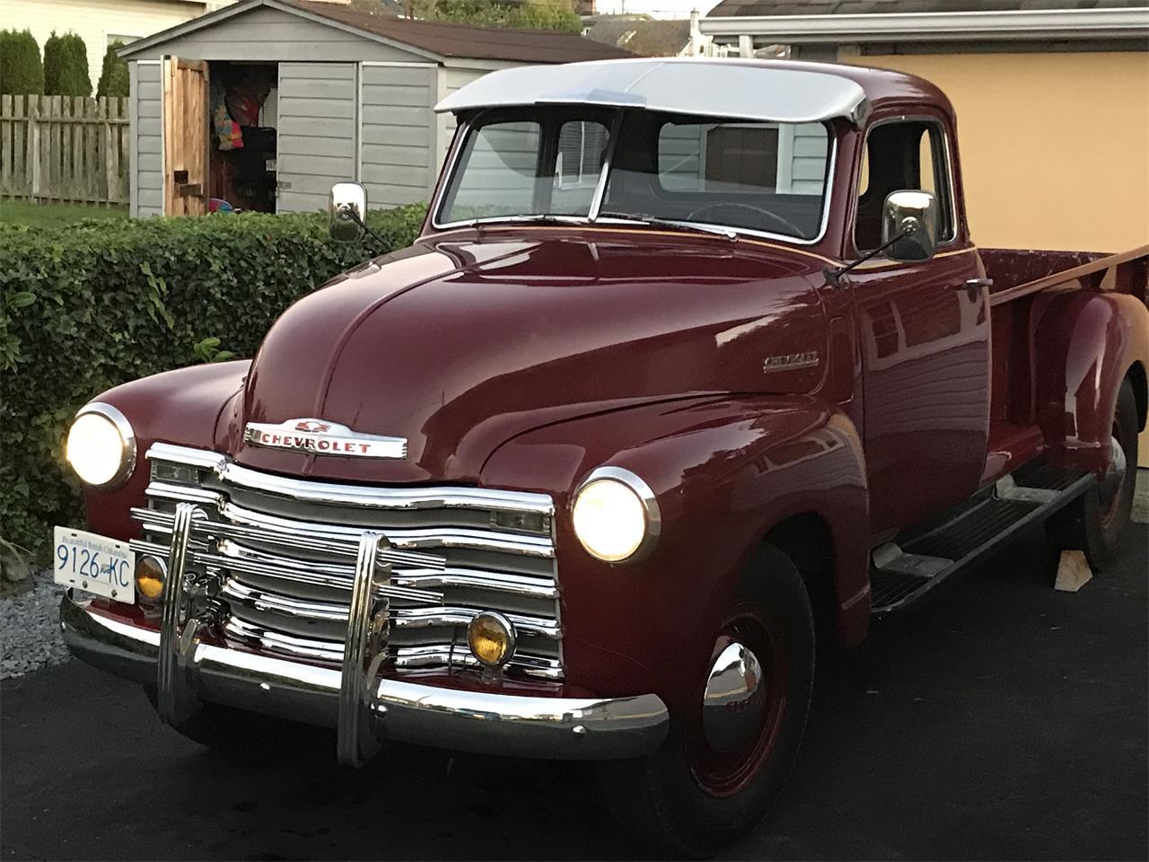 Chevrolet Pickup 1950 prix tout compris