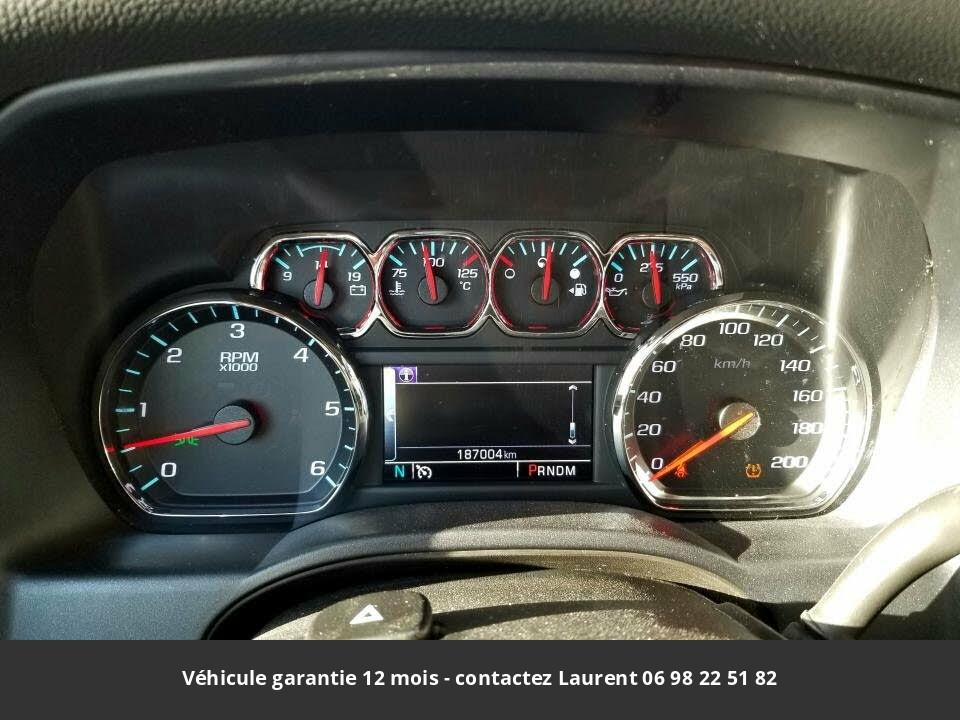 chevrolet Silverado 1500 lt crew cab 4wd prix tout compris hors homologation 4500 €