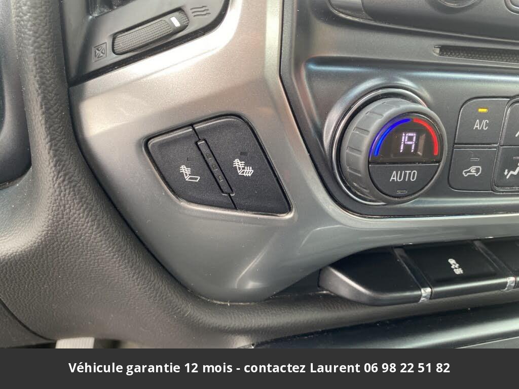 chevrolet silverado  1500 lt double cab 4wd 2017 prix tout compris hors homologation 4500 €