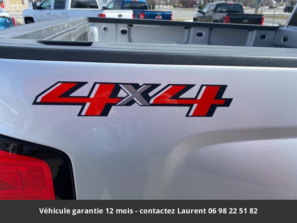 chevrolet silverado 1500 ls crew cab 4wd 2018 prix tout compris hors homologation 4500 €