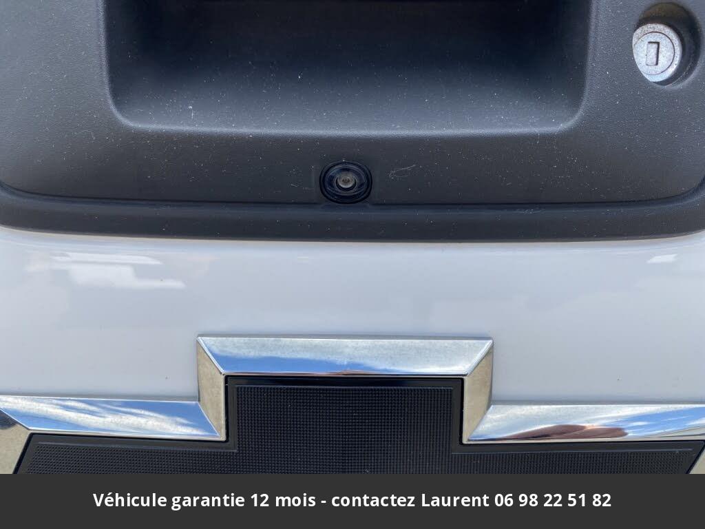 chevrolet silverado  1500 custom double cab 4wd 2018 prix tout compris hors homologation 4500 €