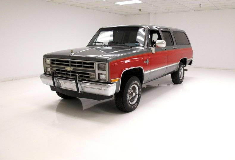 Chevrolet Suburban 350ci's for the v8 1987 prix tout compris 1987