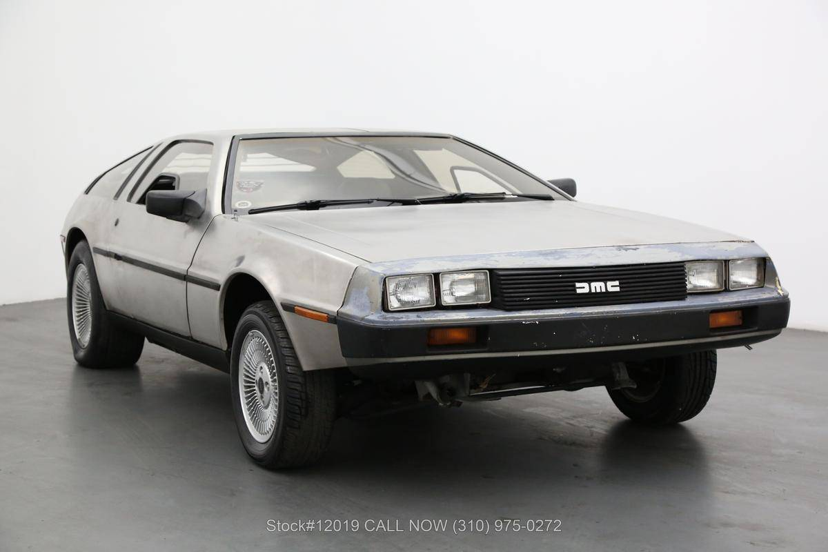 DeLorean DMC-12 1981 prix tout compris 1981