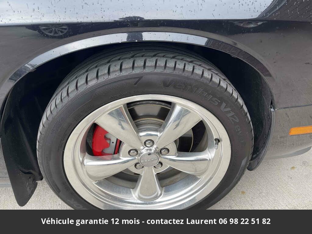 dodge challenger R/t  372 hp 5.7l v8 prix tout compris hors homologation 4500 €