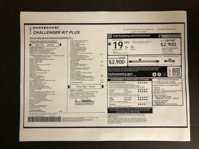 dodge challenger R/t plus 2013 prix tout compris hors homologation 4500€