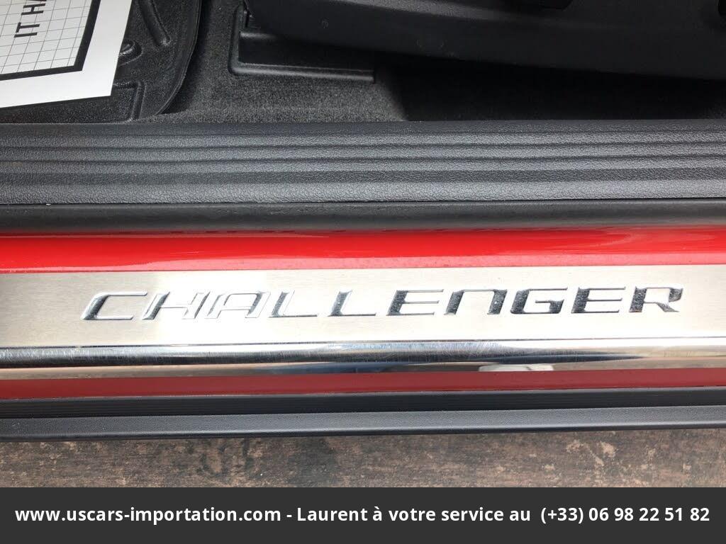 dodge challenger R/t  2013 prix tout compris hors homologation 4500€