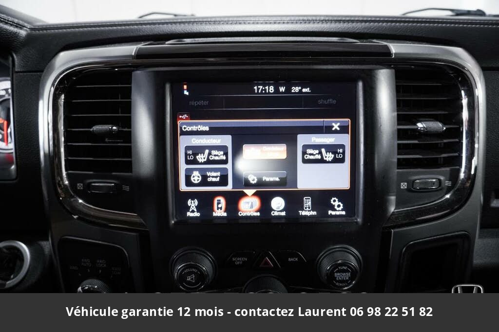 Dodge RAM 1500 sport quad cab 4wd 2013 prix tout compris hors homologation 4500 €