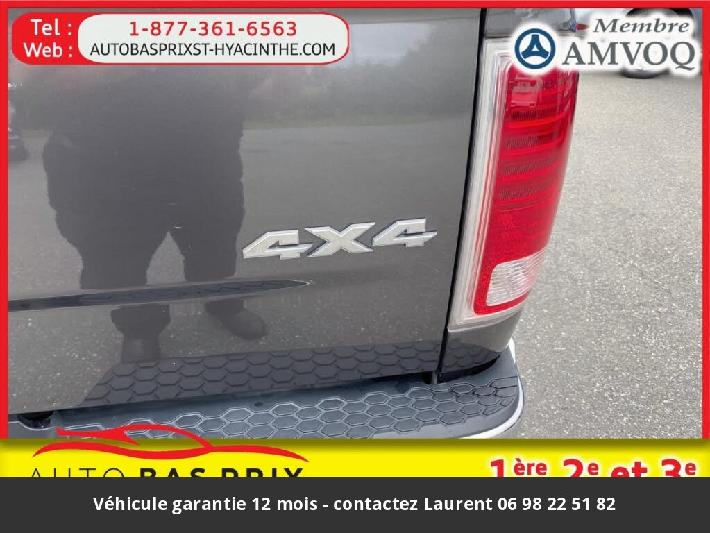 DODGE RAM 1500 laramie quad cab 4wd 2014 prix tout compris hors homologation 4500 €