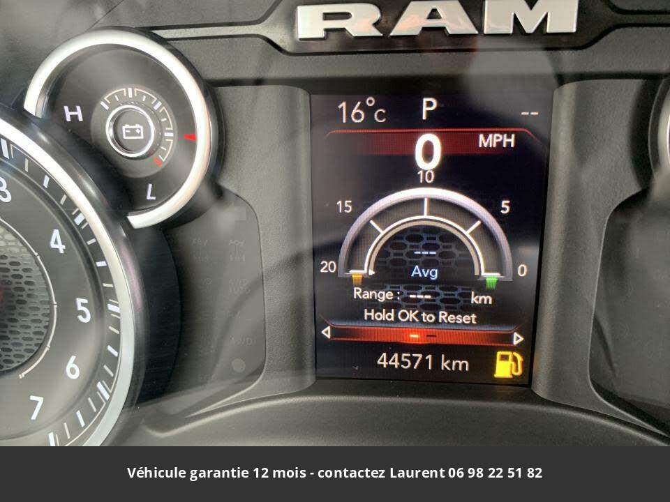 DODGE RAM 1500 big horn quad cab 4wd 2019 prix tout compris hors homologation 4500 €