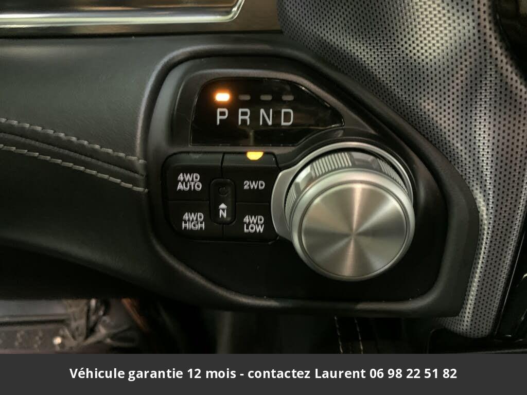 DODGE RAM Limited  395 hp 5.7l v8 crew cab 4wd prix tout compris hors homologation 4500 €