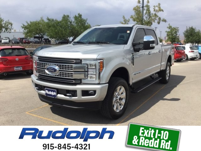 Ford F-250 Super Duty Platinum 2017