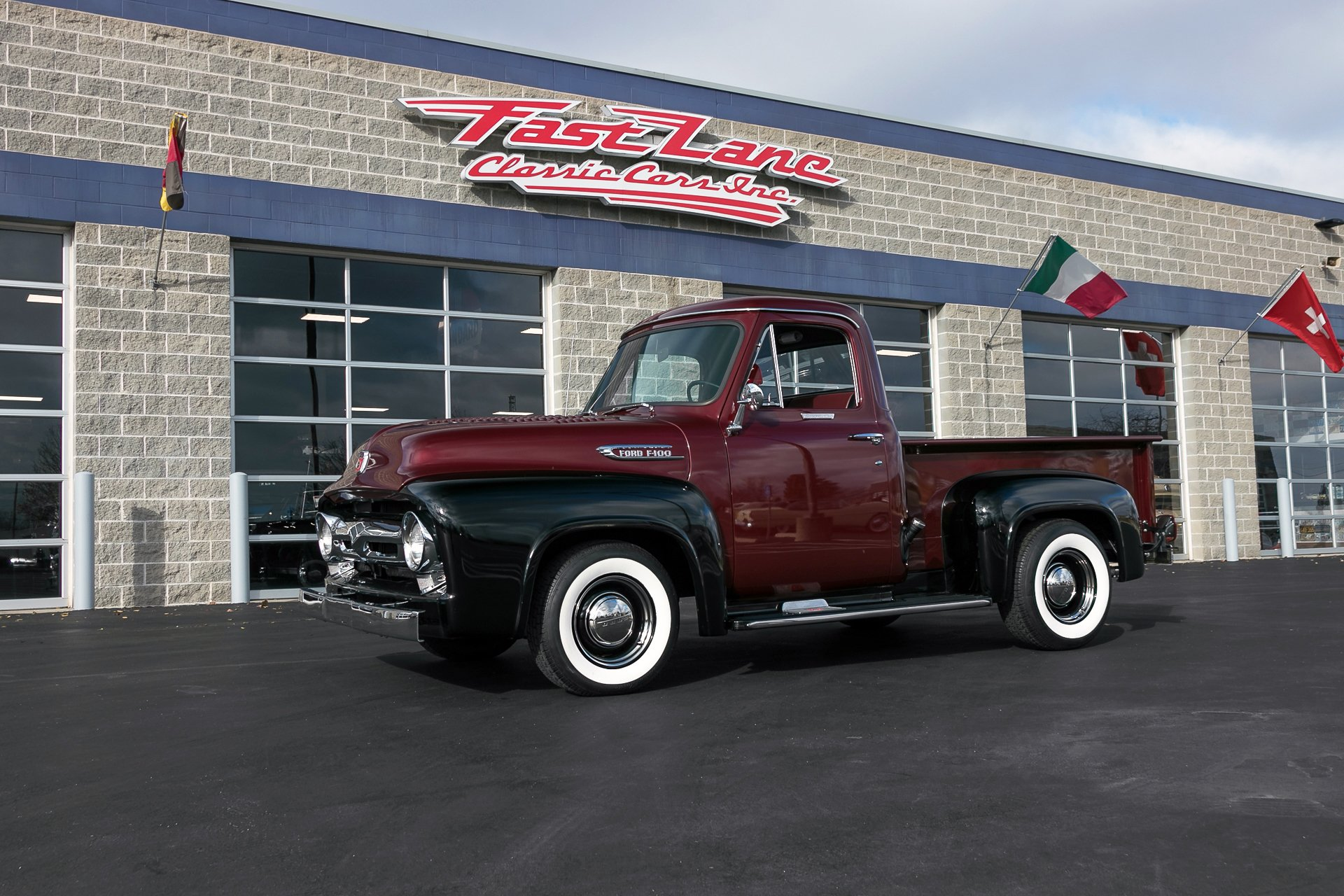 Ford F100 Pickup $44,995 Importé 1954