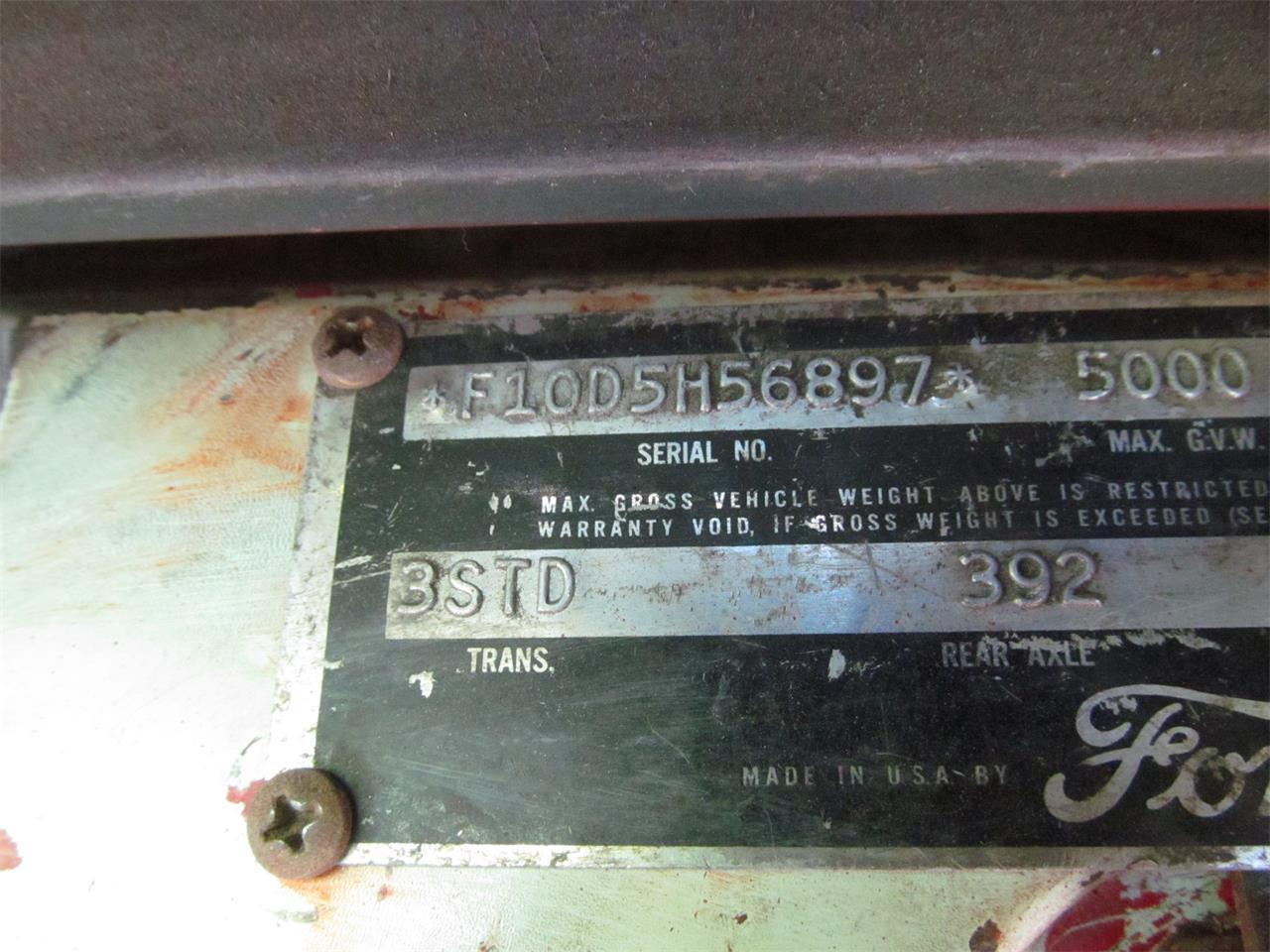 Ford F100 V8 1 955