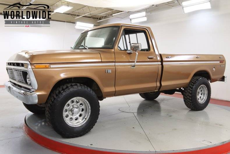 Ford F100 V8 390 4x4 1975 prix tout compris 1975
