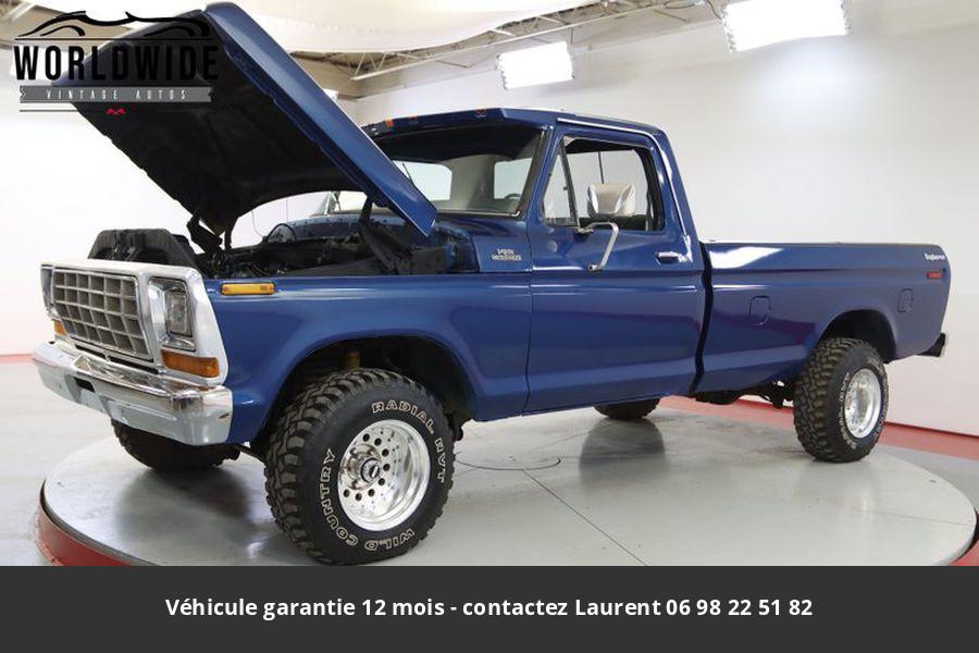 Ford F150 351 v8 1979 prix tout compris