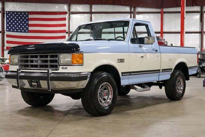 Ford F150 Xlt lariat 44 v8 5.8l ho 1987 prix tout compris 1987