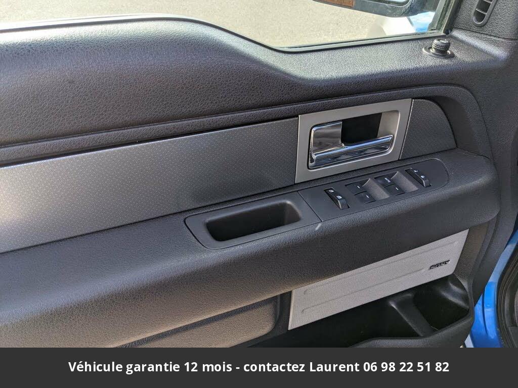 ford F150 6.2l v8 svt raptor supercab 4wd 2010 prix tout compris hors homologation 4500 €