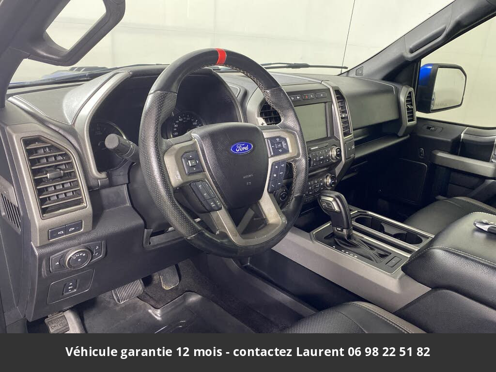 ford F150 Svt raptor supercrew 4wd 2017 prix tout compris hors homologation 4500 €