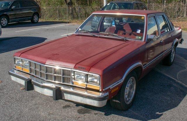 Ford Fairmont Futura 4-door 1983