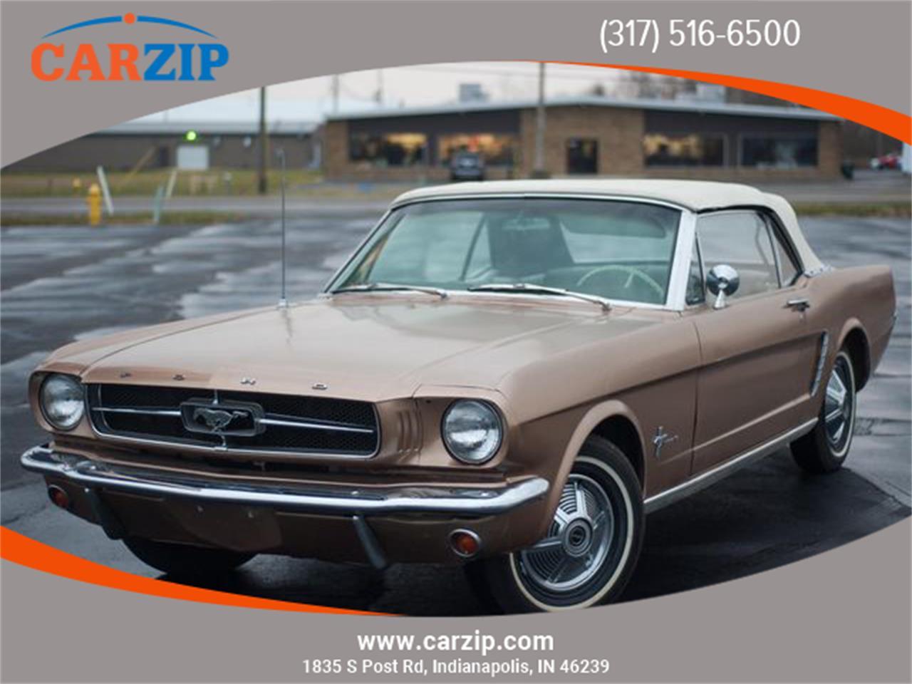 Ford Mustang Cabriolet 1965 prix tout compris 1965