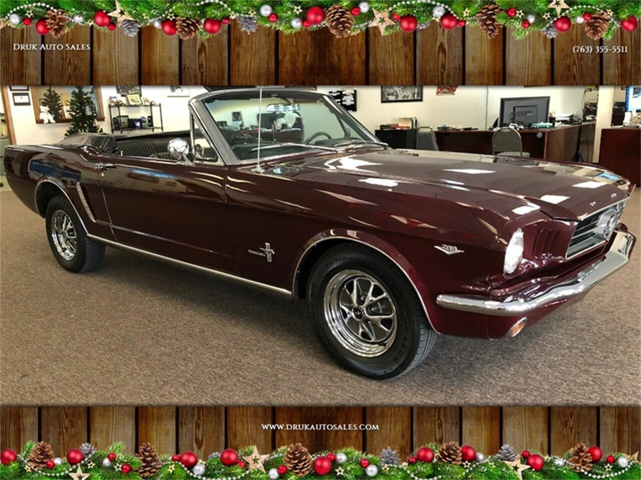 Ford Mustang V8 289 1965 prix tout compris 1965