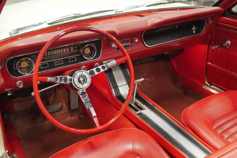 Ford Mustang Gt a pony v8 cab.1965 prix tout compris