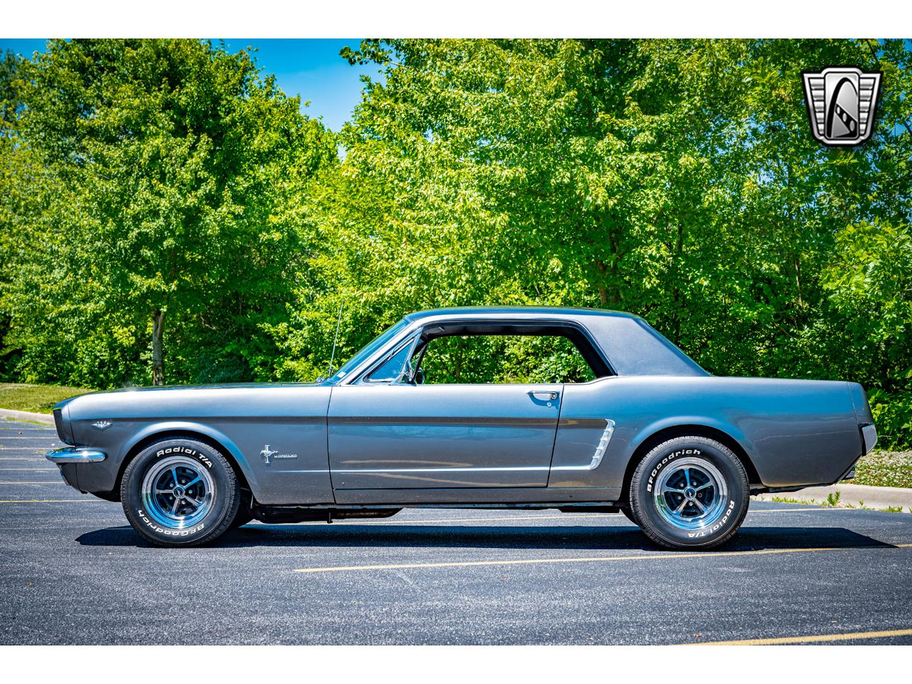 Ford Mustang Pony pack v8 289 1965 prix tout compris 1965