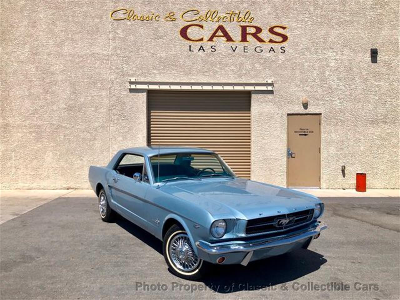 Ford Mustang V8 289 1965 prix tout compris 1965