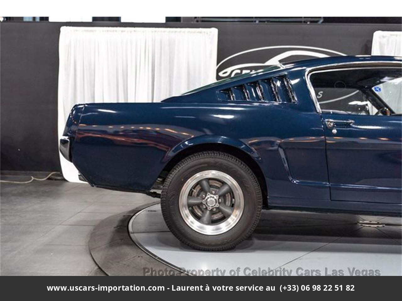 Ford Mustang Fastback pony pack v8 289 1965 prix tout compris