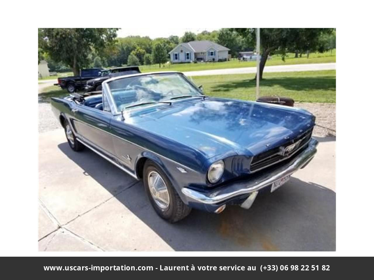 Ford Mustang V8 code a 1965 prix tout compris