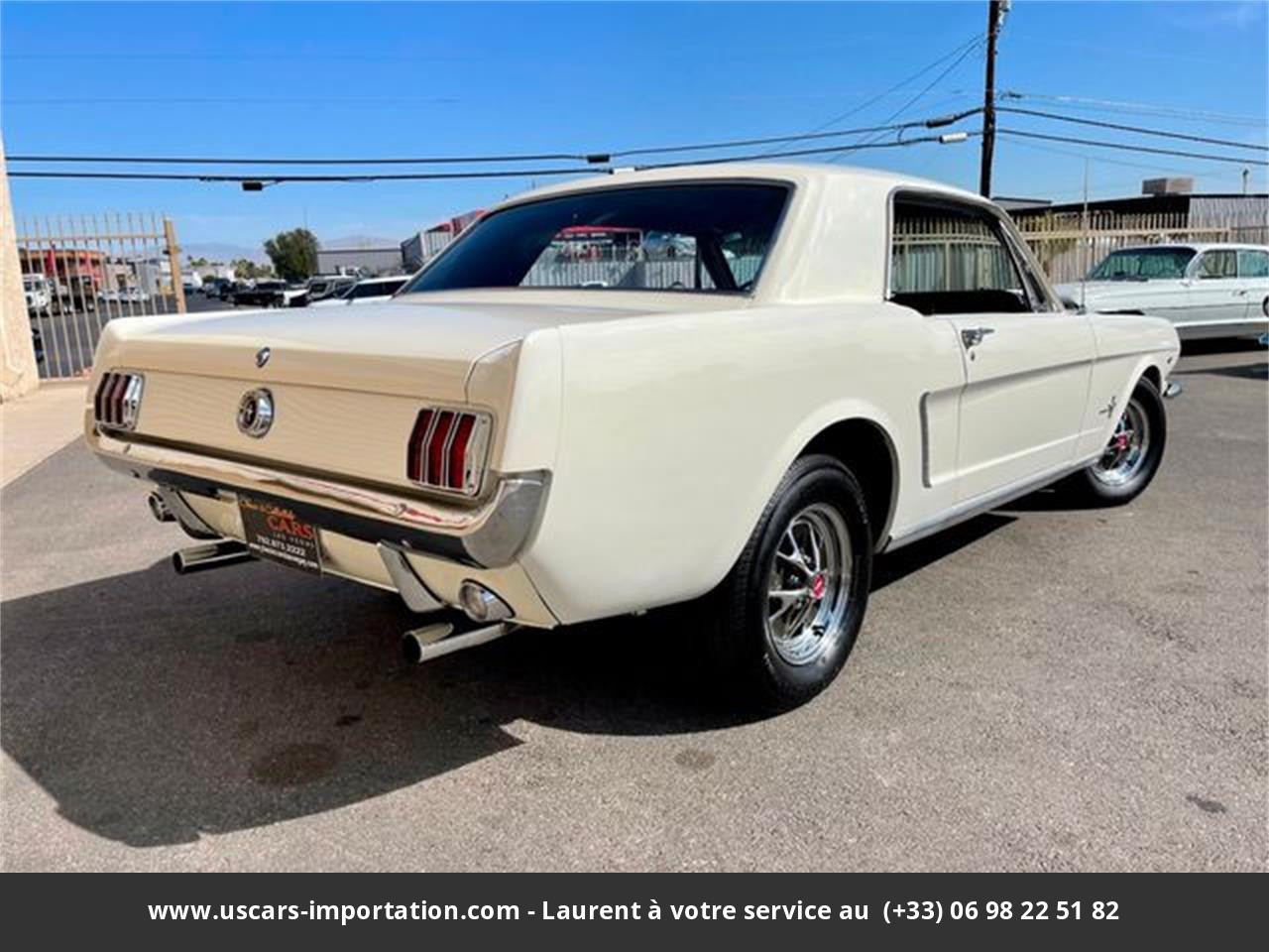 Ford Mustang V8 1965 prix tout compris