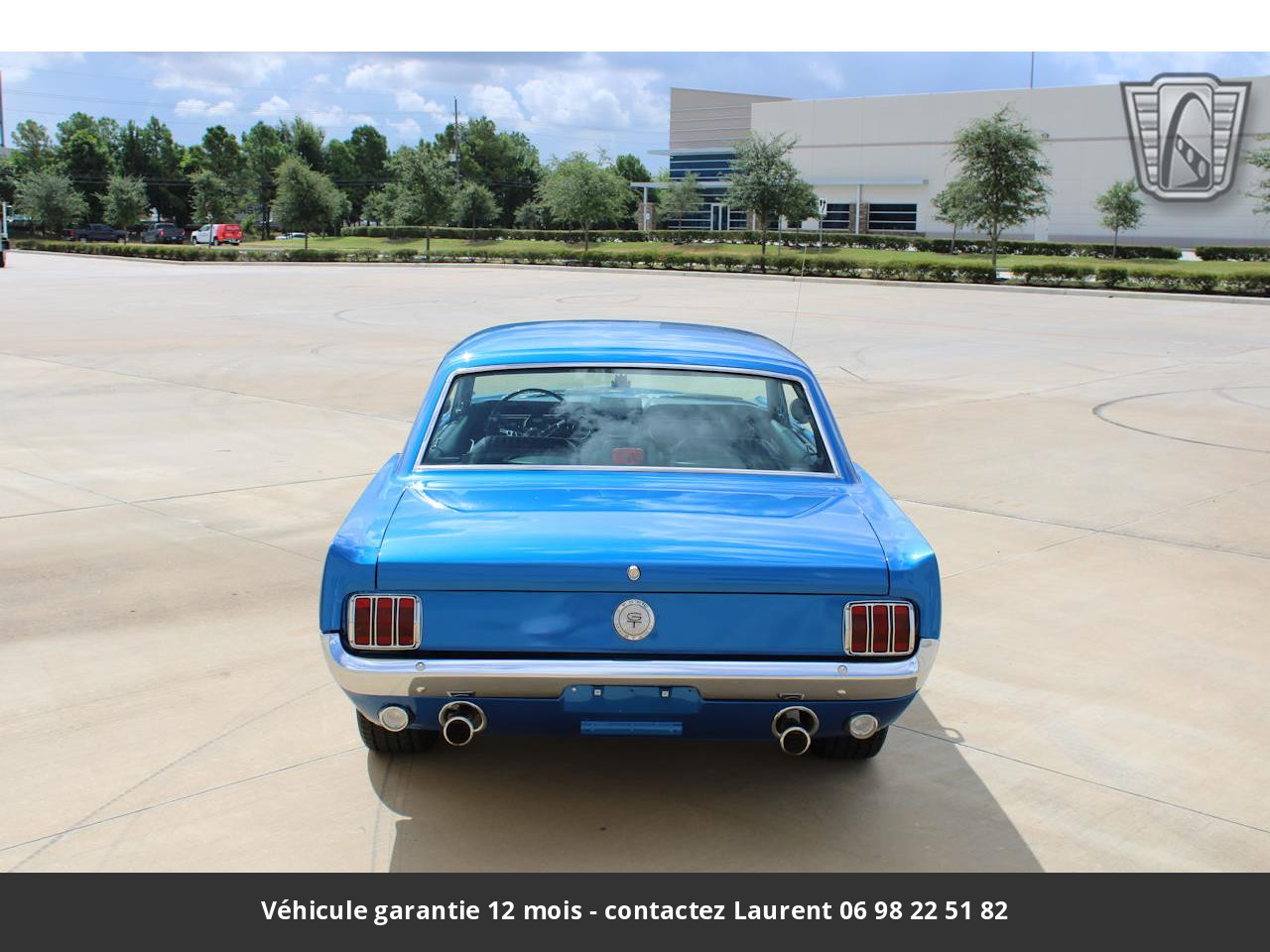 Ford Mustang Pony pack v8 289 1965 prix tout compris
