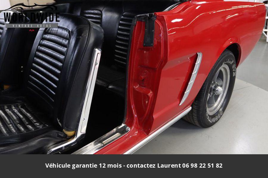 Ford Mustang V8 289 1965 prix tout compris