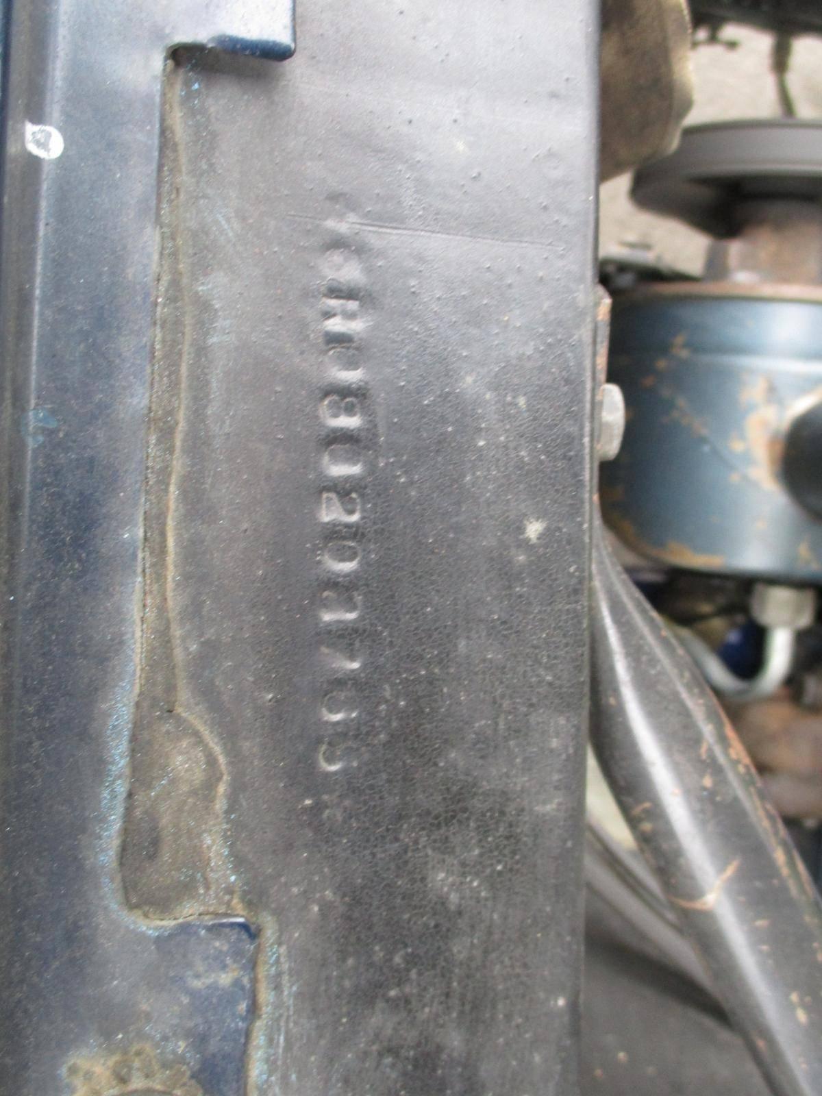 Ford Mustang 1966 v8 289  prix tout compris