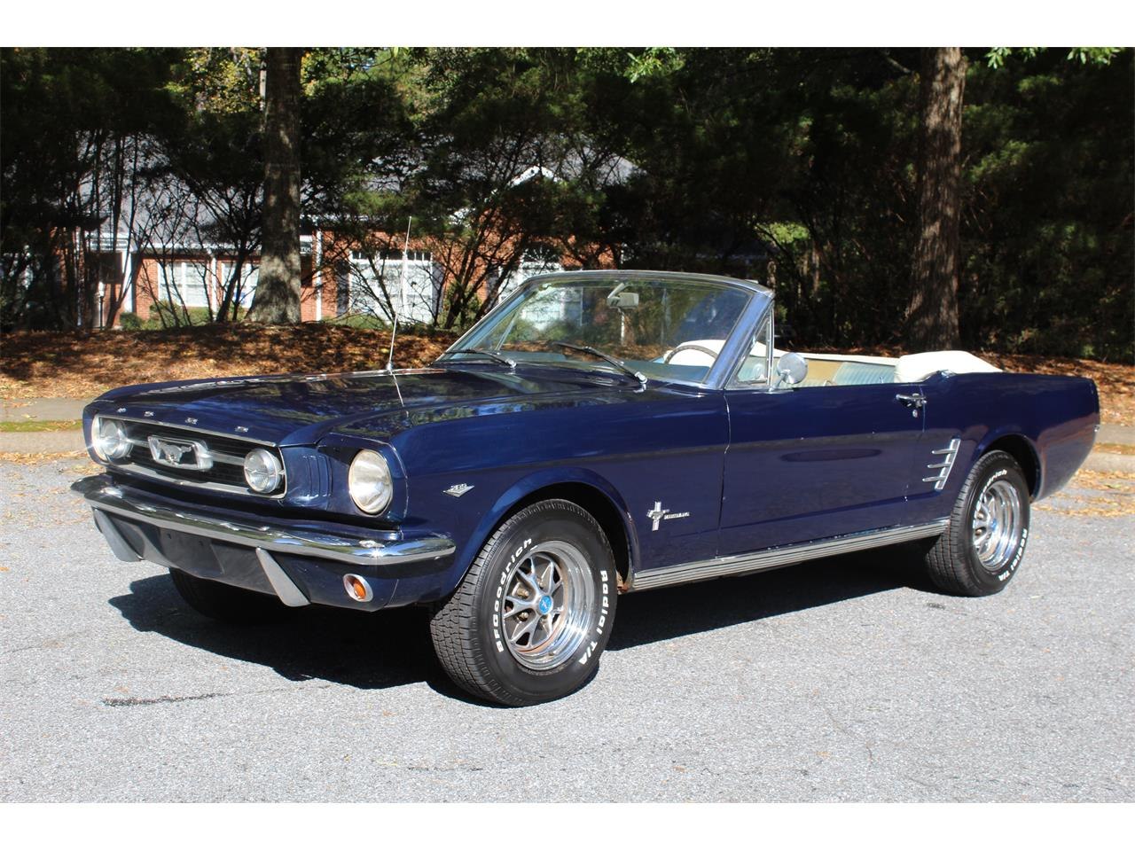 Ford Mustang Pony v8 289 1966 prix tout compris 1966