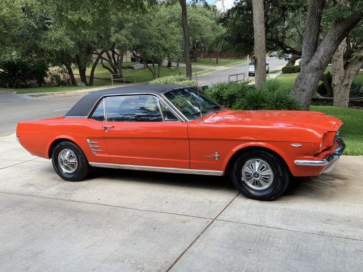 Ford Mustang Expertise dispo v8 289 1966  prix tout compris