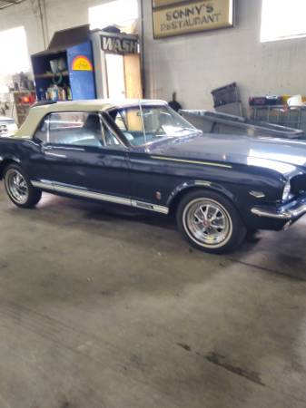 Ford Mustang Pack pony v8 289 1966 prix tout compris 1966
