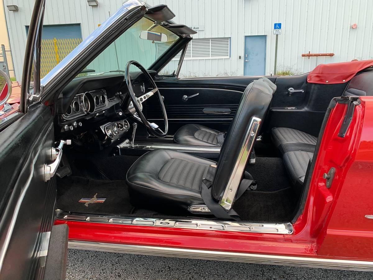 Ford Mustang 1966 restauration prix tout compris