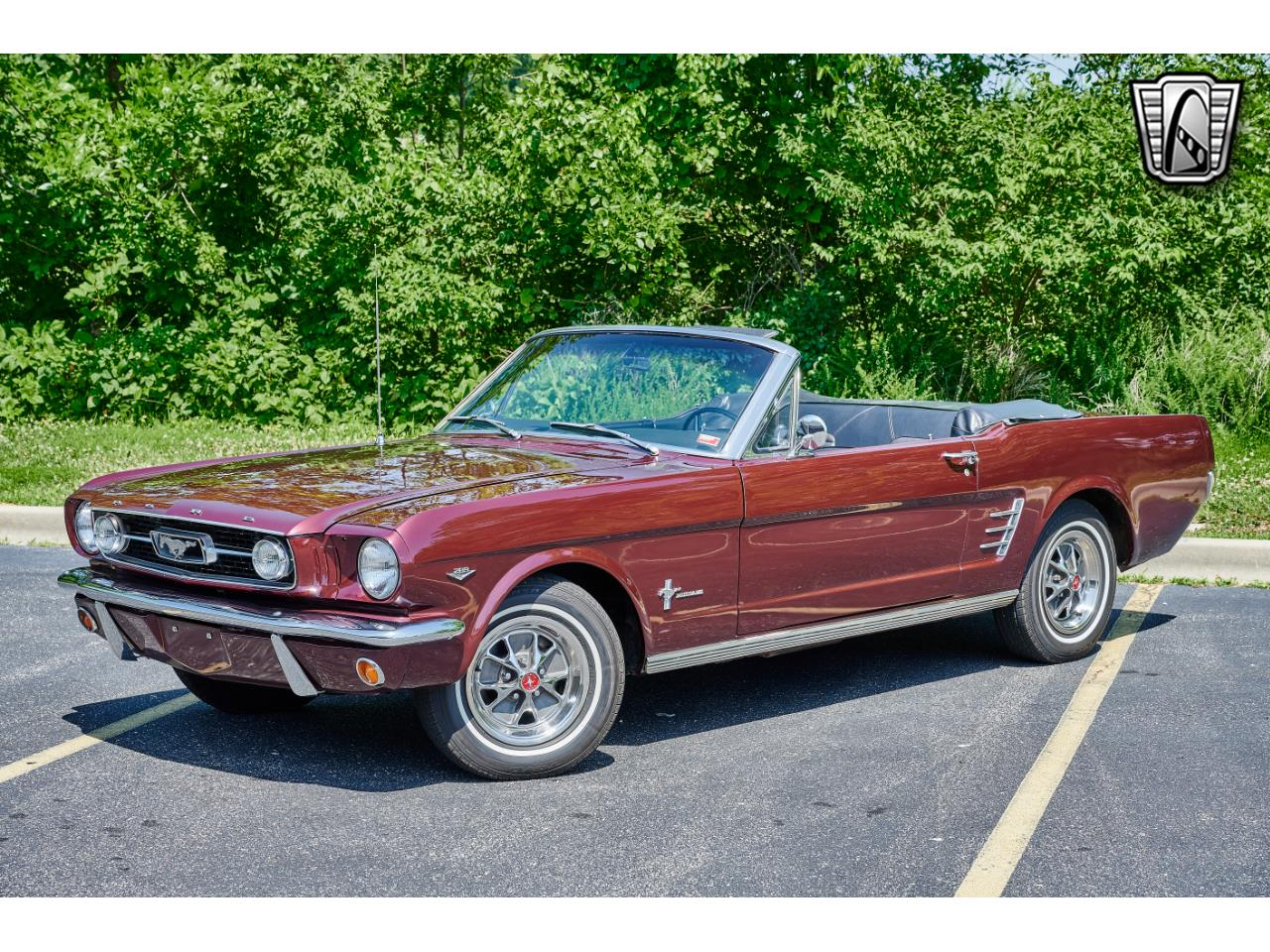 Ford Mustang Cabriolet 1966 v8 code c prix tout compris 1966