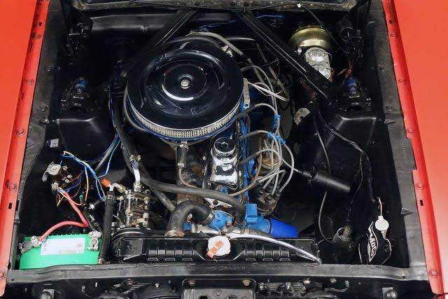 ford mustang V6 1966 équipée de l'air conditionné prix tout compris