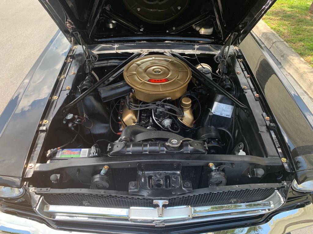Ford Mustang V8 pony 1966 restaurée prix tout compris
