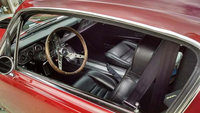 Ford Mustang Fastback v8 gta 1966 prix tout compris