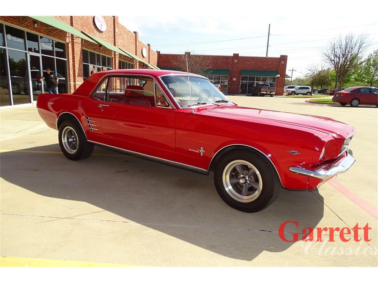 Ford Mustang V8 289 1966 restaurée pony pack prix tout compris 1966