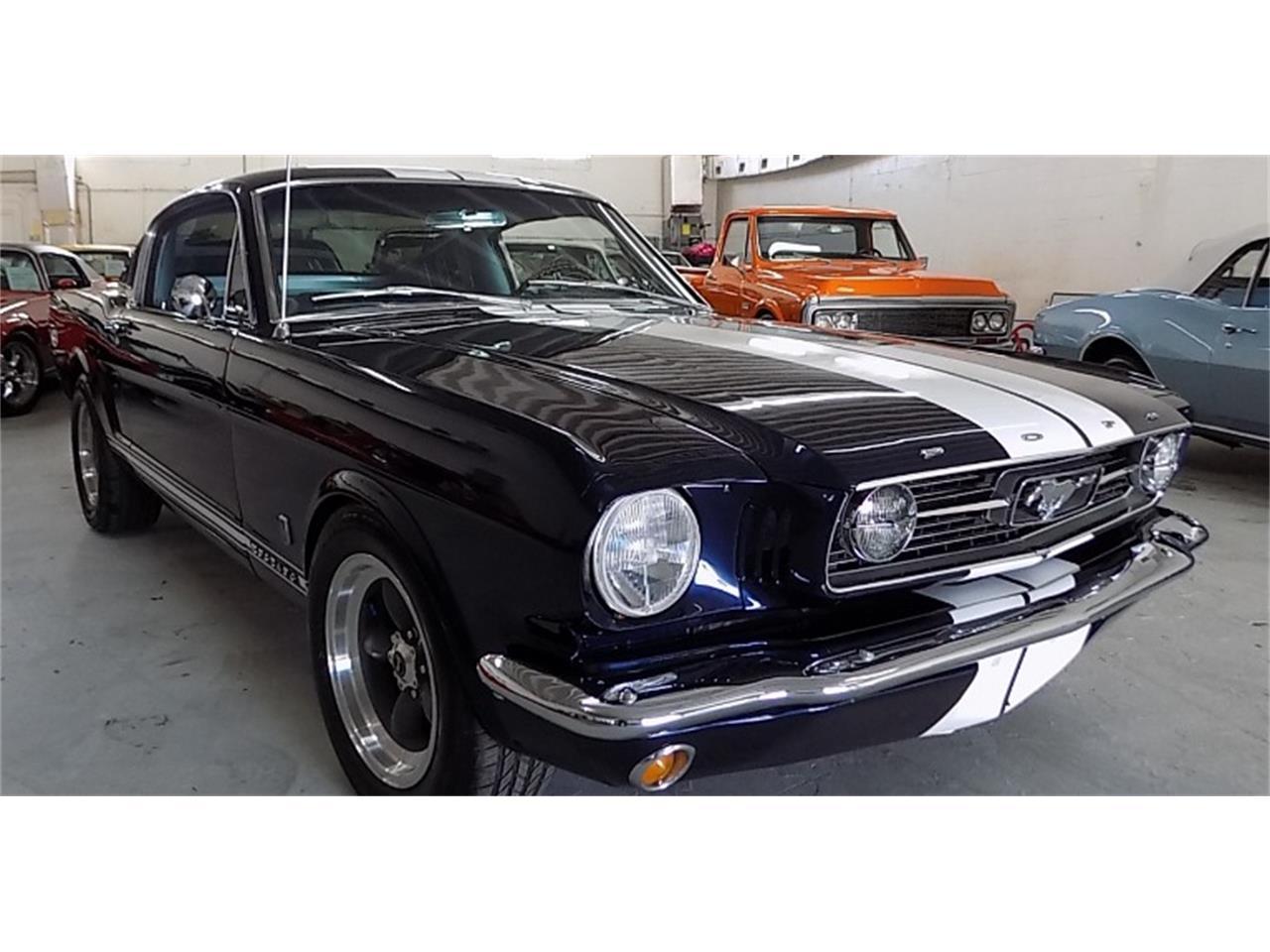 Ford Mustang Fastback gt pony v8 289 1966 prix tout compris 1966