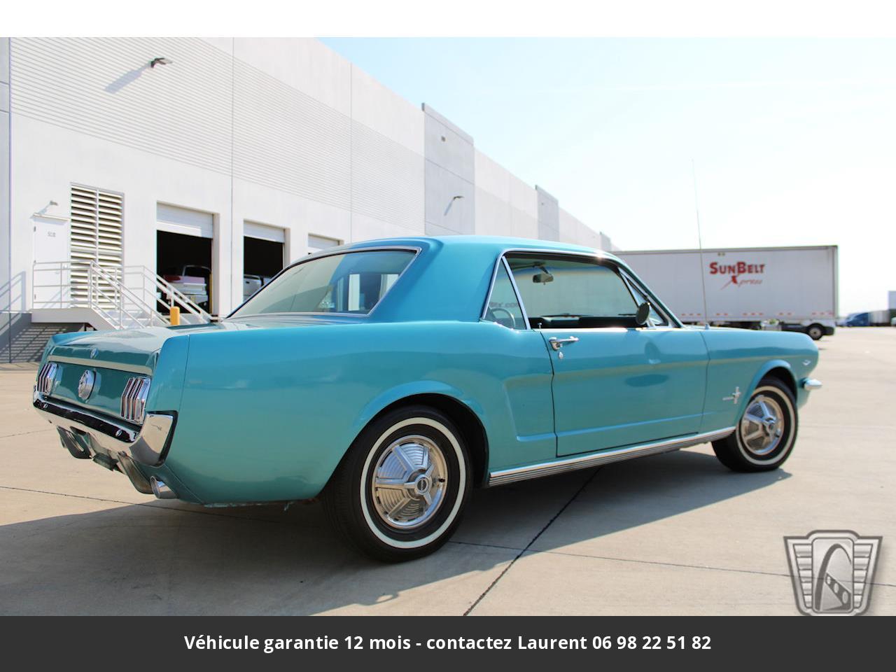 Ford Mustang V8 289 1966 prix tout compris