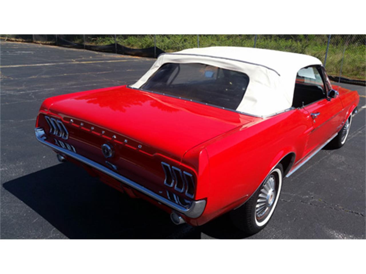 Ford Mustang V8 289 1967 dissier dispo prix tout compris