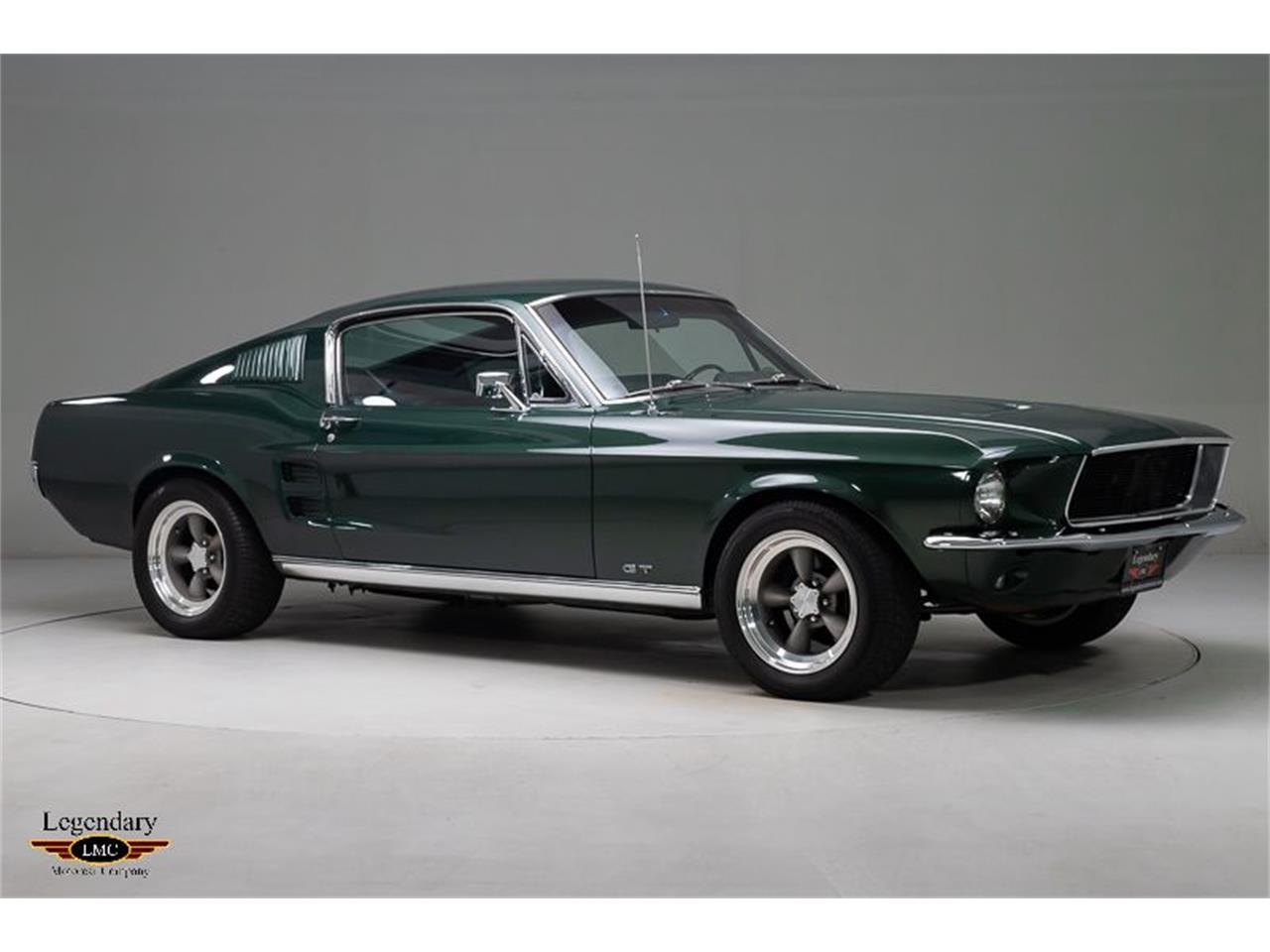 Ford Mustang Bullitt fastback rotisserie1967 prix tout compris 1967