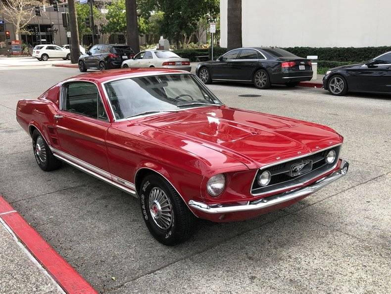 Ford Mustang Fastback gta s code 1967 prix tout compris 1967