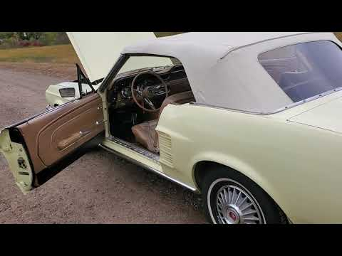 Ford Mustang V8 289 1967 prix tout compris 1967