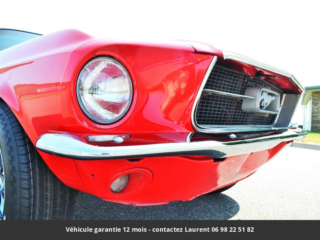 Ford Mustang V8 289 1967 prix tout compris